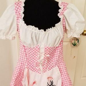 Leg Avenue Pink Little Miss Muffett Costume 1X-2X